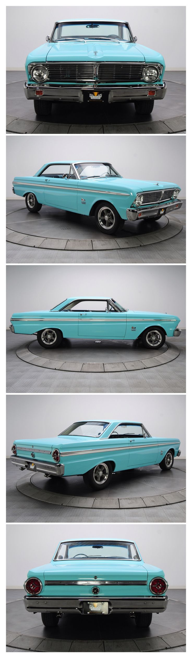 1965 Ford Blue Falcon Futura 2Dr. H.T. Maintenance of old vehicles: the material…