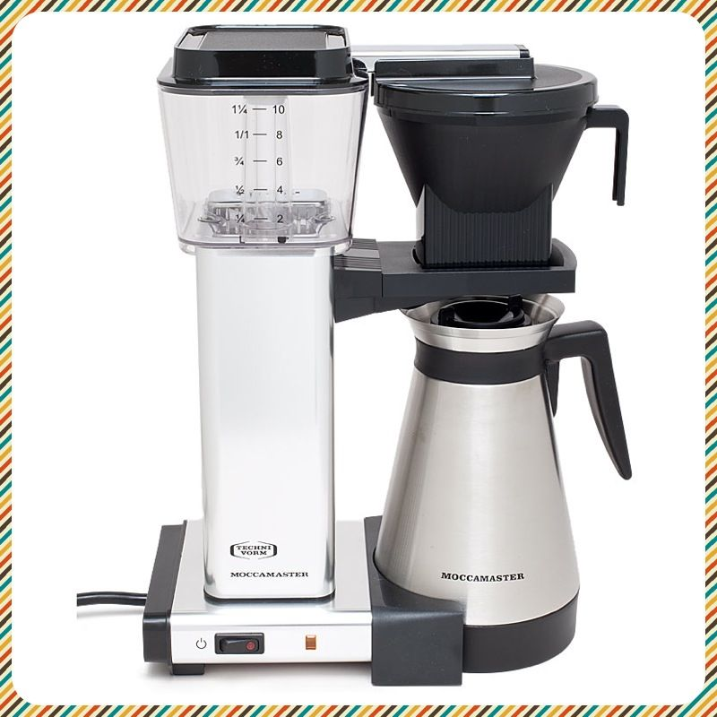 FOR EVERY COFFEE LOVER Technivorm Moccamaster 10Cup