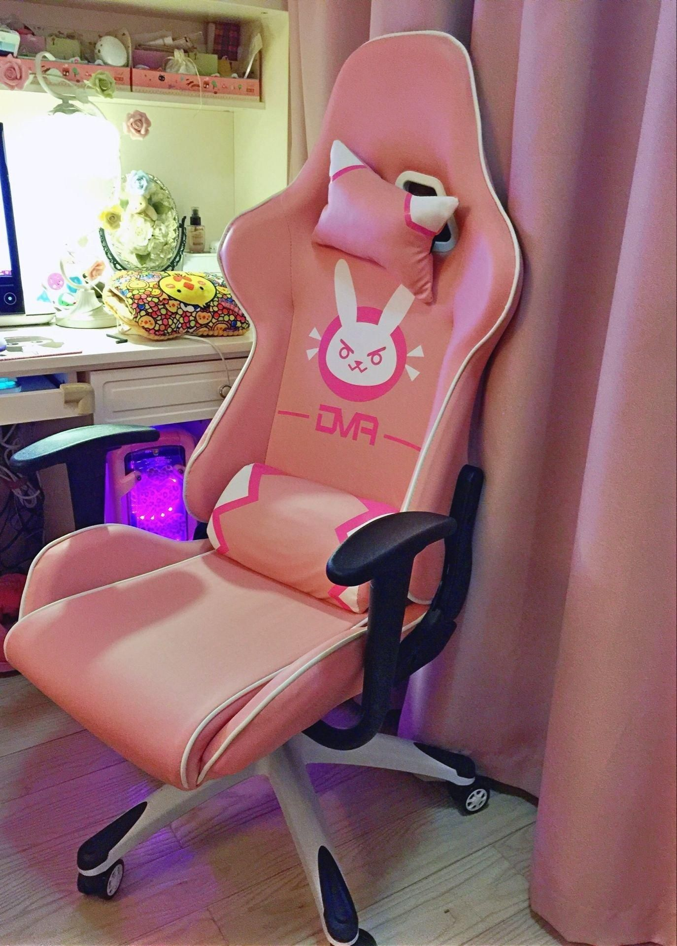 Overwatch Dva Bunny Gaming Chair Sd02353 In 2018 Geeky Dxracer Racing Series Oh Rv001 Nv Black Violed