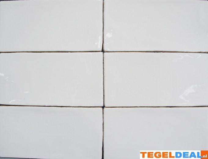 Tuintegels 5 Euro Per M2.Tegels Limburg Wit 7 5x15 Cm A 34 00 Euro M2 Handvorm
