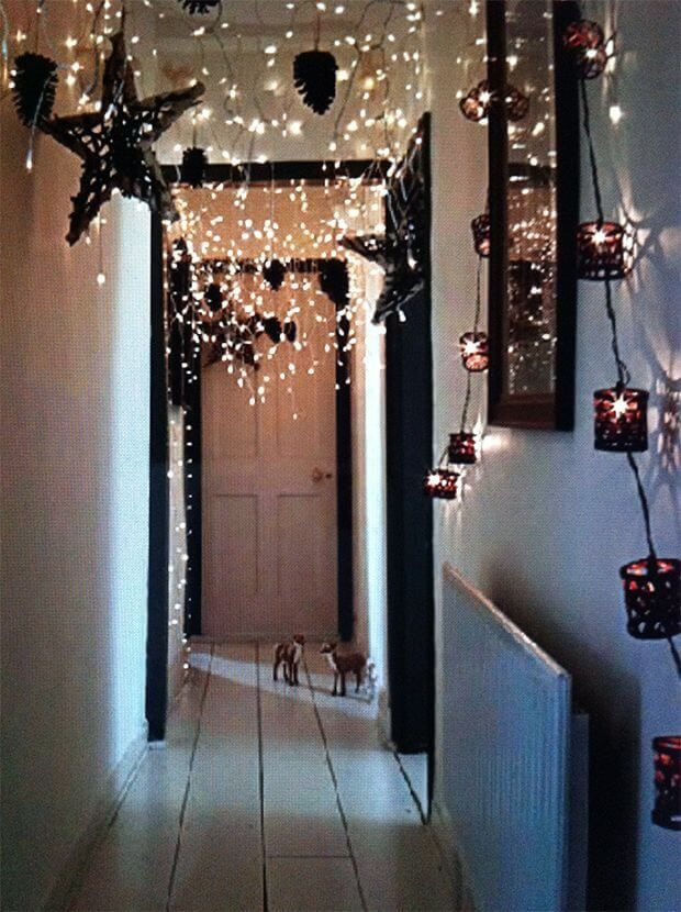 Zauberhafte DIY Weihnachtsbeleuchtung Ideen zum Selbermachen #weihnachtlicheszuhause