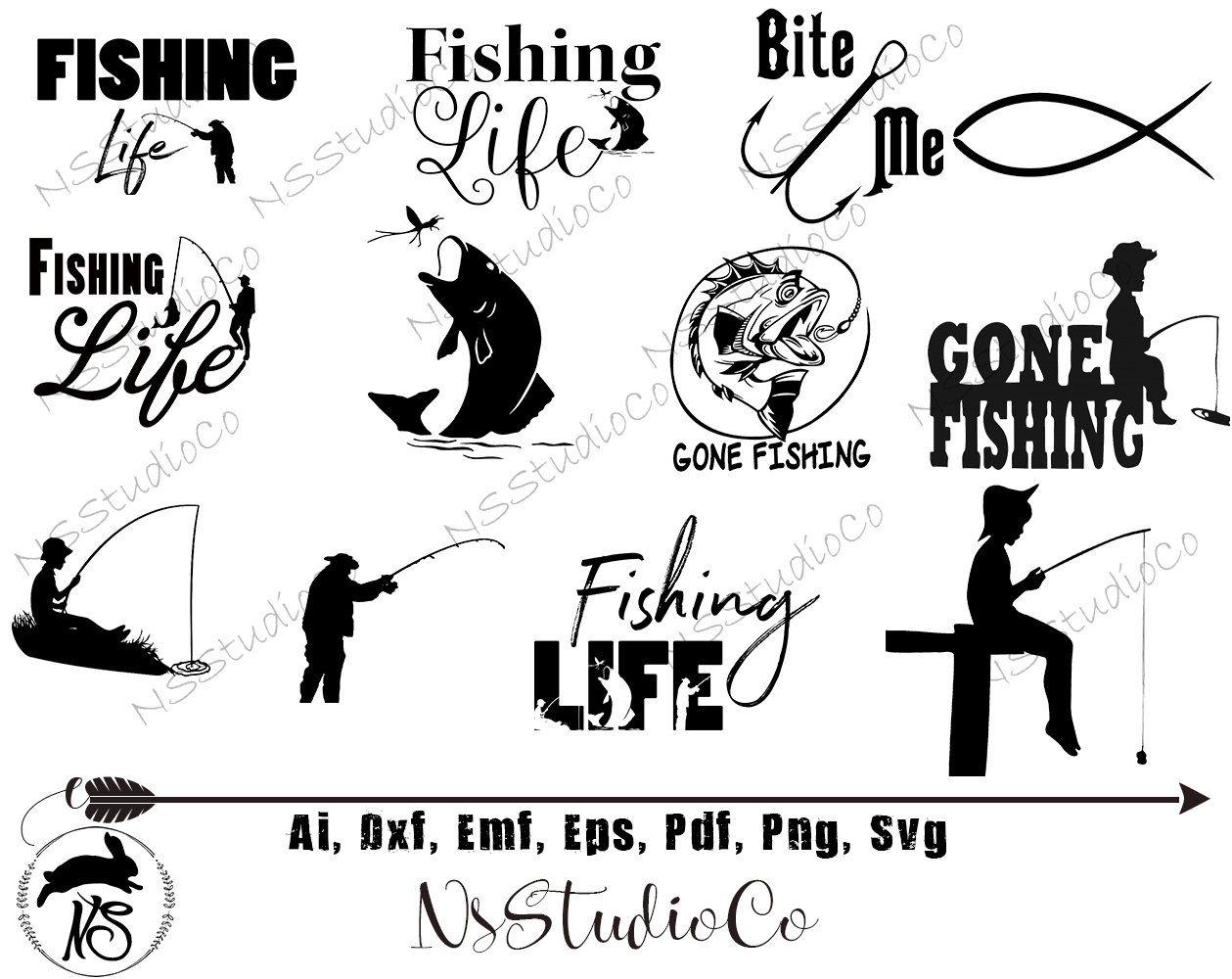 Download Fishing Svg Ultimate Bundle Pack Fish Svg Fishing Svg Files Fish Hook Svg Lake Svg Fishing Pole Svg Fishing Svg B Fishing Svg Fish Svg Fishing Pole Svg