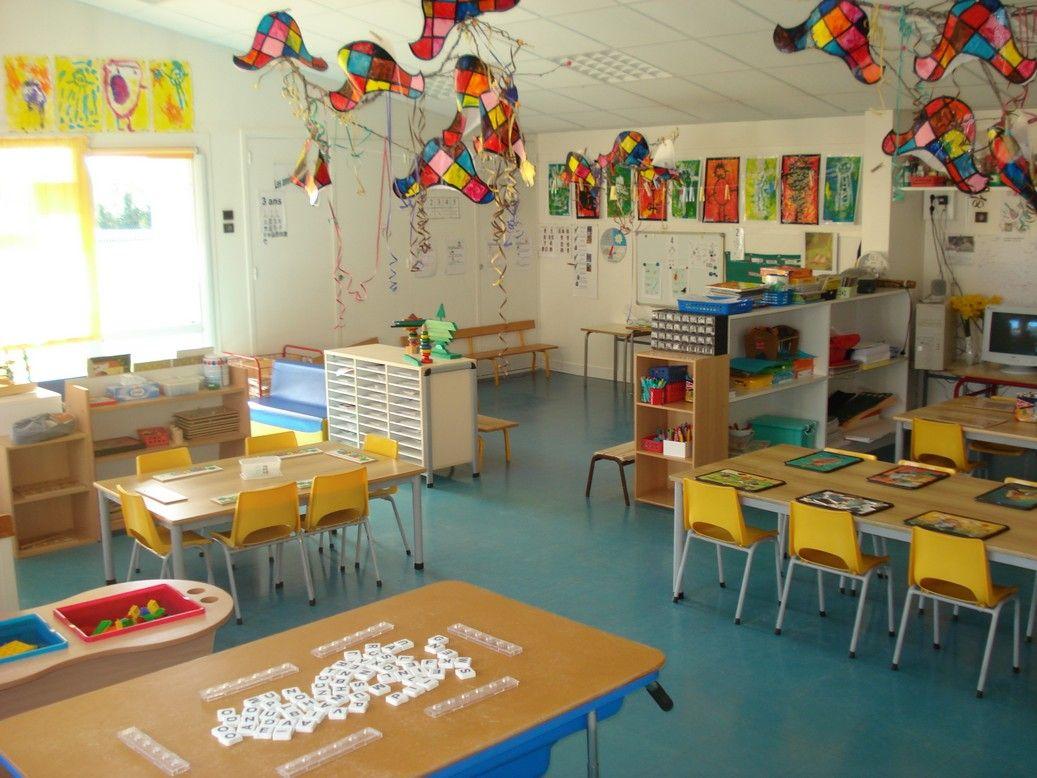 Les espaces l 39 cole maternelle p dagogie direction - Image classe maternelle ...