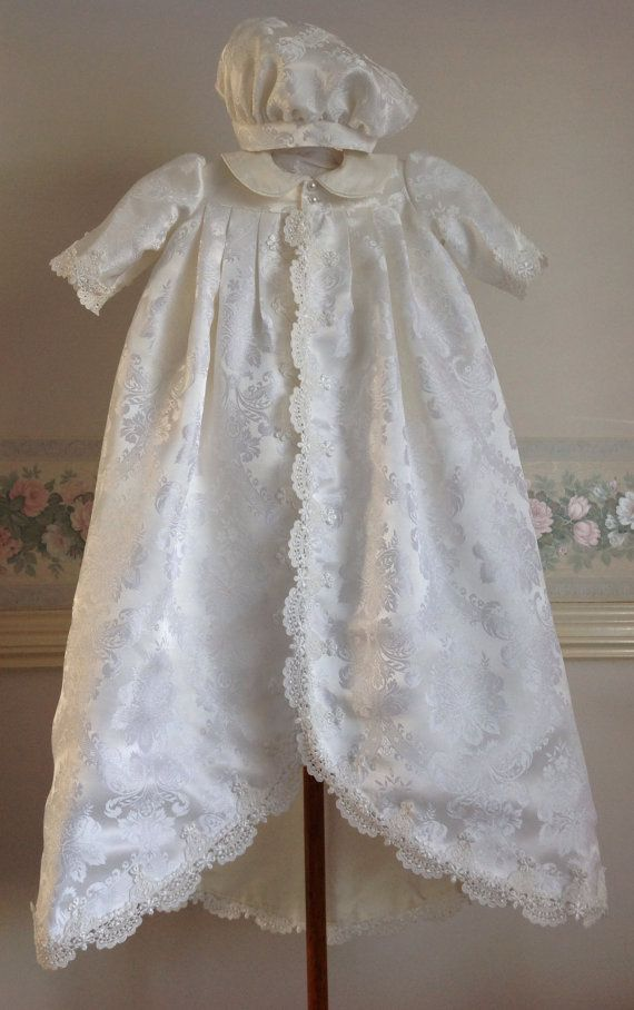 56c8c60138390 A handmade Christening ensemble which is truly royal and magnificent for  the little prince ...