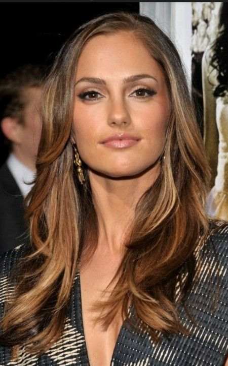 olive skin tone with blonde hair