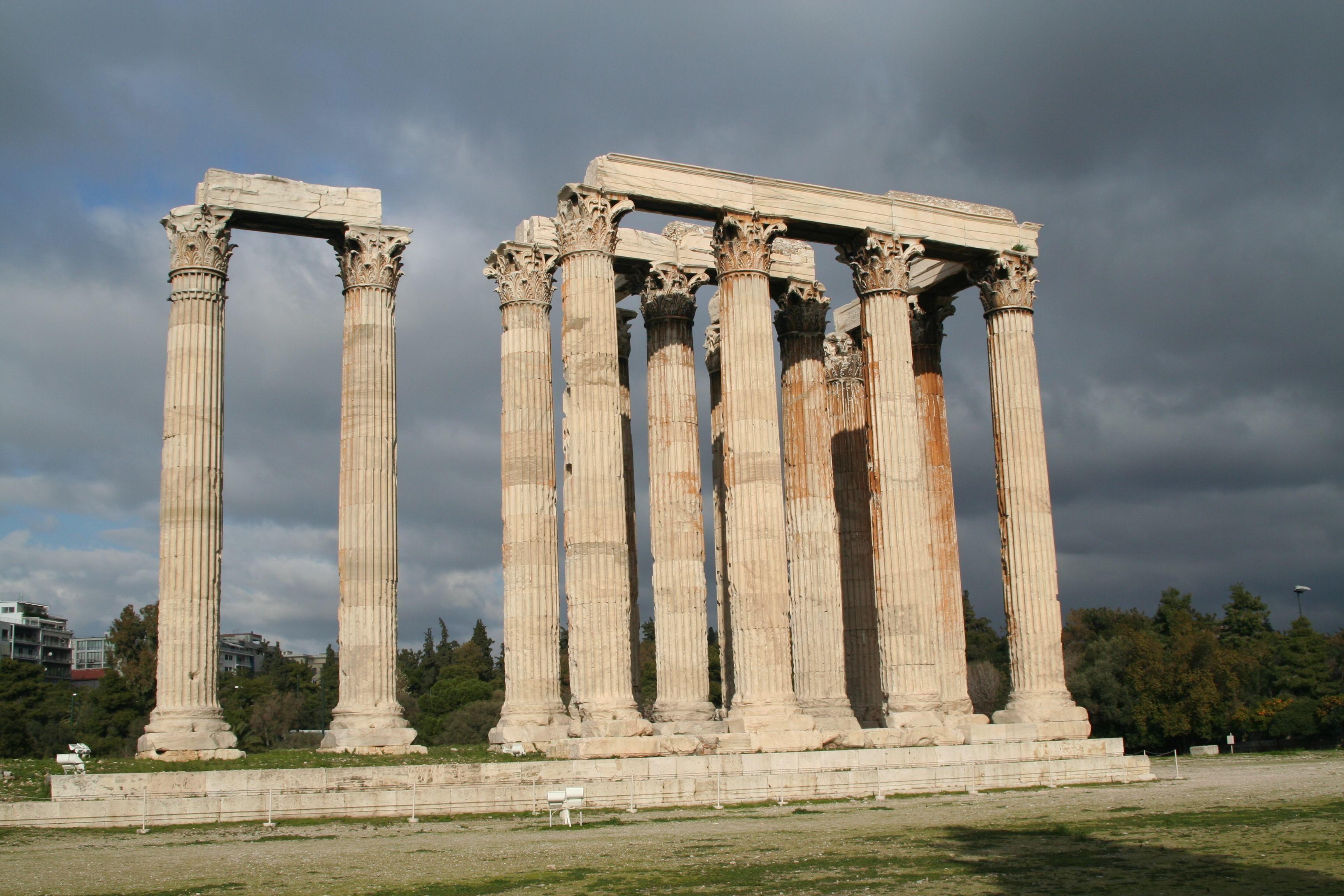 Zeusov hram Olimpija GRKA Pinterest The ojays Of and Temples