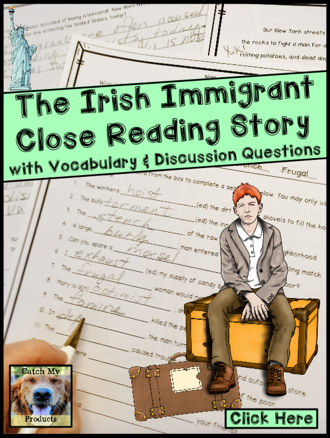 Irish Immigration To Us Reading Passage