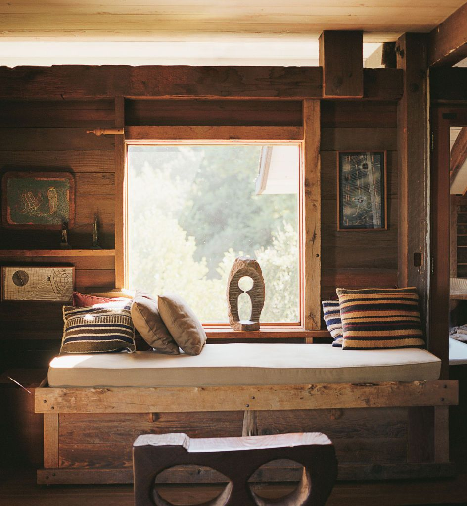 jb blunk / hand hewn house, inverness california   Home ...