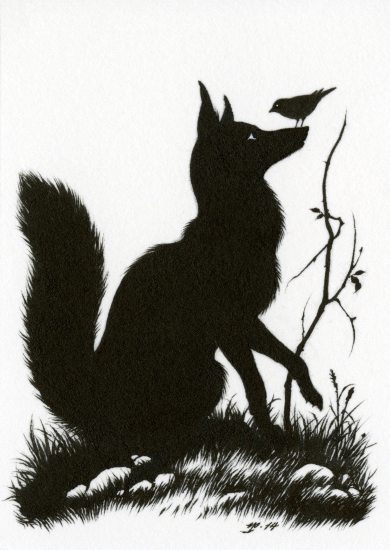 Featured Books Fox Silhouette Fox Art Silhouette Art