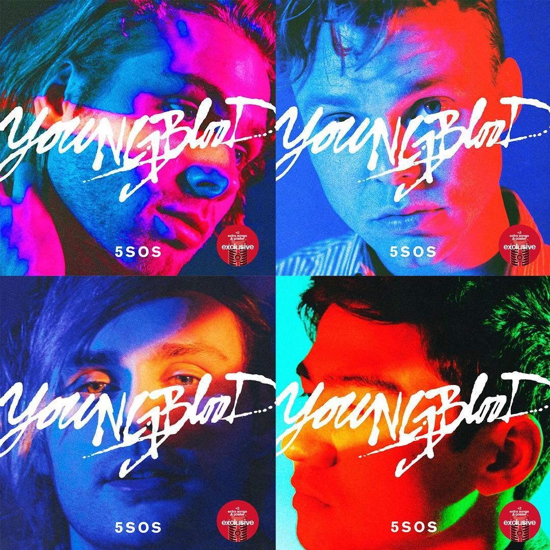 Pre-order our new album YOUNGBLOOD from @target with 2