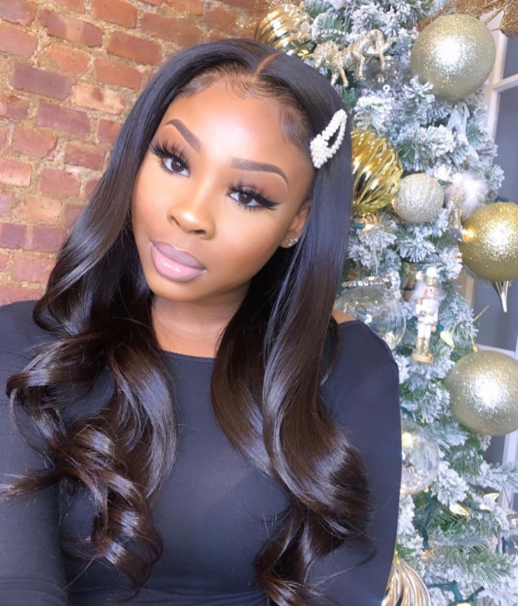 180 Density Frontal Lace Wig Glueless Pre Plucked in 2020