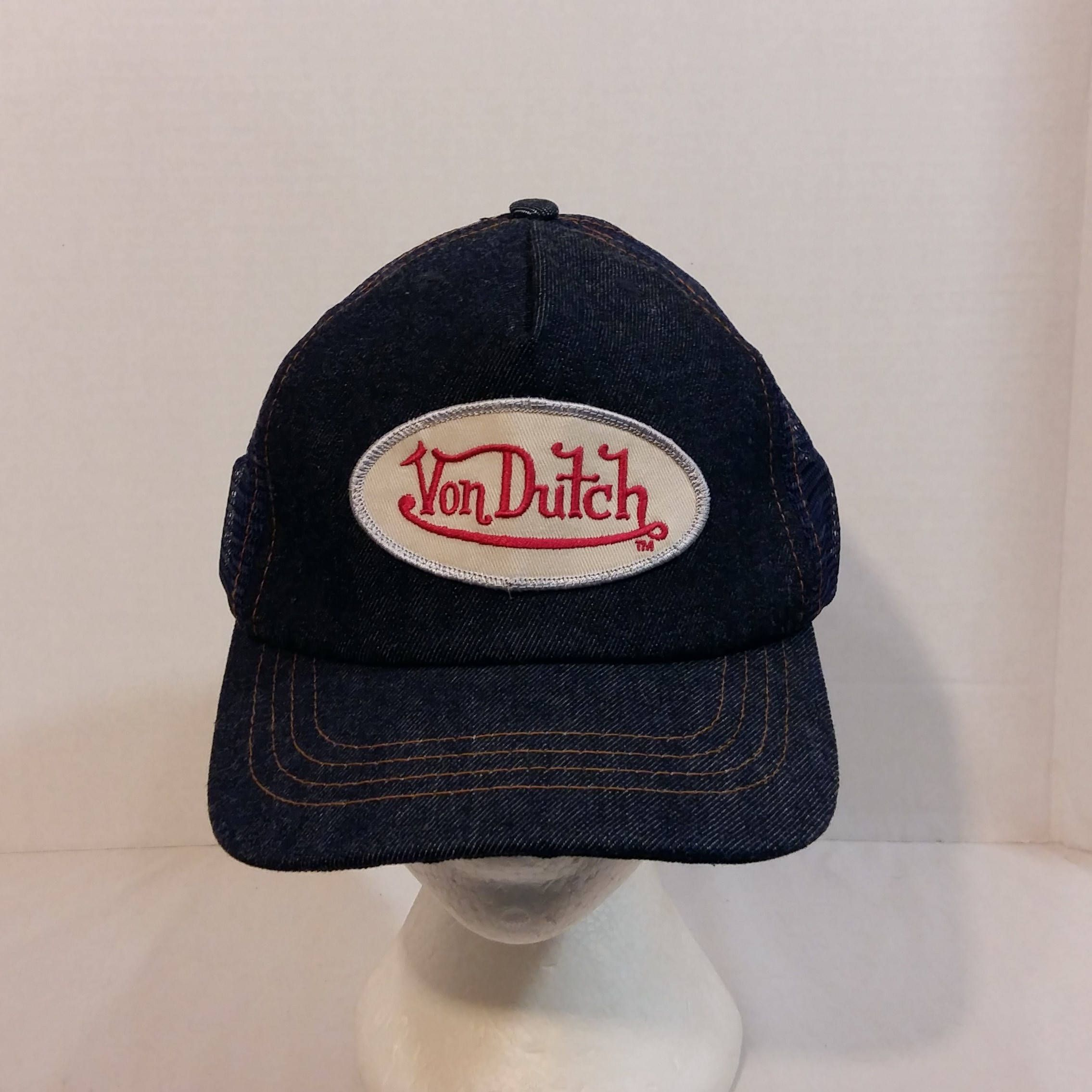 Von Dutch Vintage Baseball Truckers Hat Cap Snapback Made in USA by  LouisandRileys on Etsy c40f50e316a