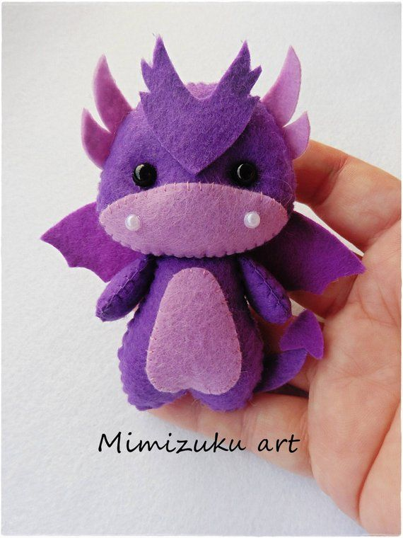 Dragon felt Mobile, Dragons Baby Mobile, Dragons Nursery Decor, Cute dragons, Fantasy Nursery Decor, Baby Shower Gift, colors Dragons Mobile #feltdragon