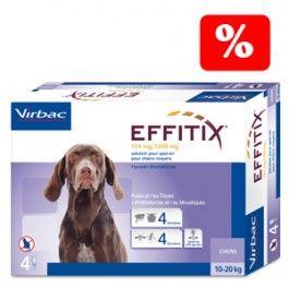 Oferta Pipetas Antiparasitarias Effitix Para Perros Pulgas Y Garrapatas Perros Pipetas
