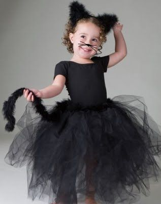 Black Cat Tutu tutu Pinterest Indie, Halloween costumes and - cute cat halloween costume ideas