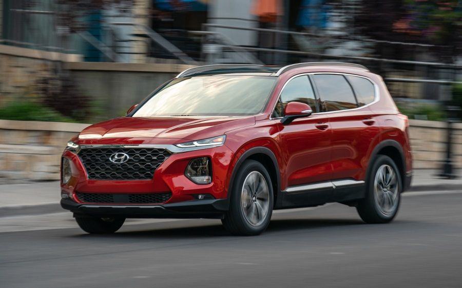 2019 Hyundai Santa Fe Sel Plus Review And Price Mycarboard Com In 2020 Hyundai Santa Fe Hyundai Mid Size Suv