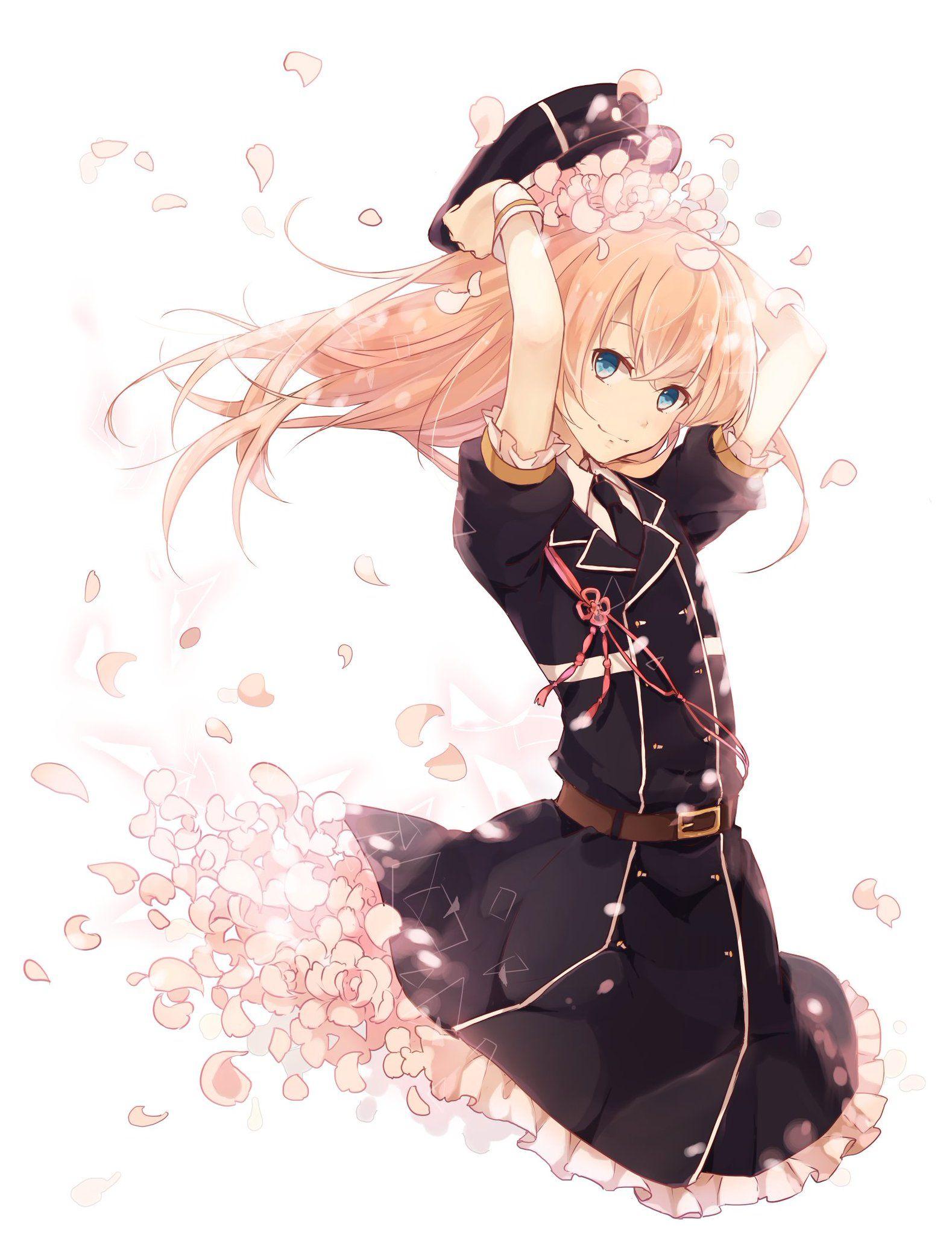 Dessin de manga fille blonde dessin de manga - Fille en manga ...