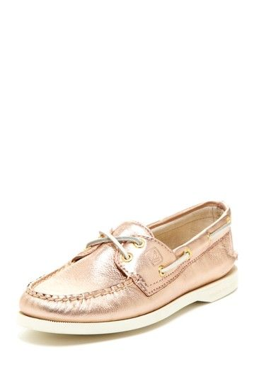 a34e65230357 Rose Gold Boat Shoe