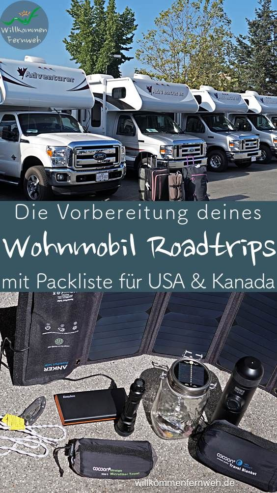 Photo of Preparing your RV trip with packing list for USA & Canada