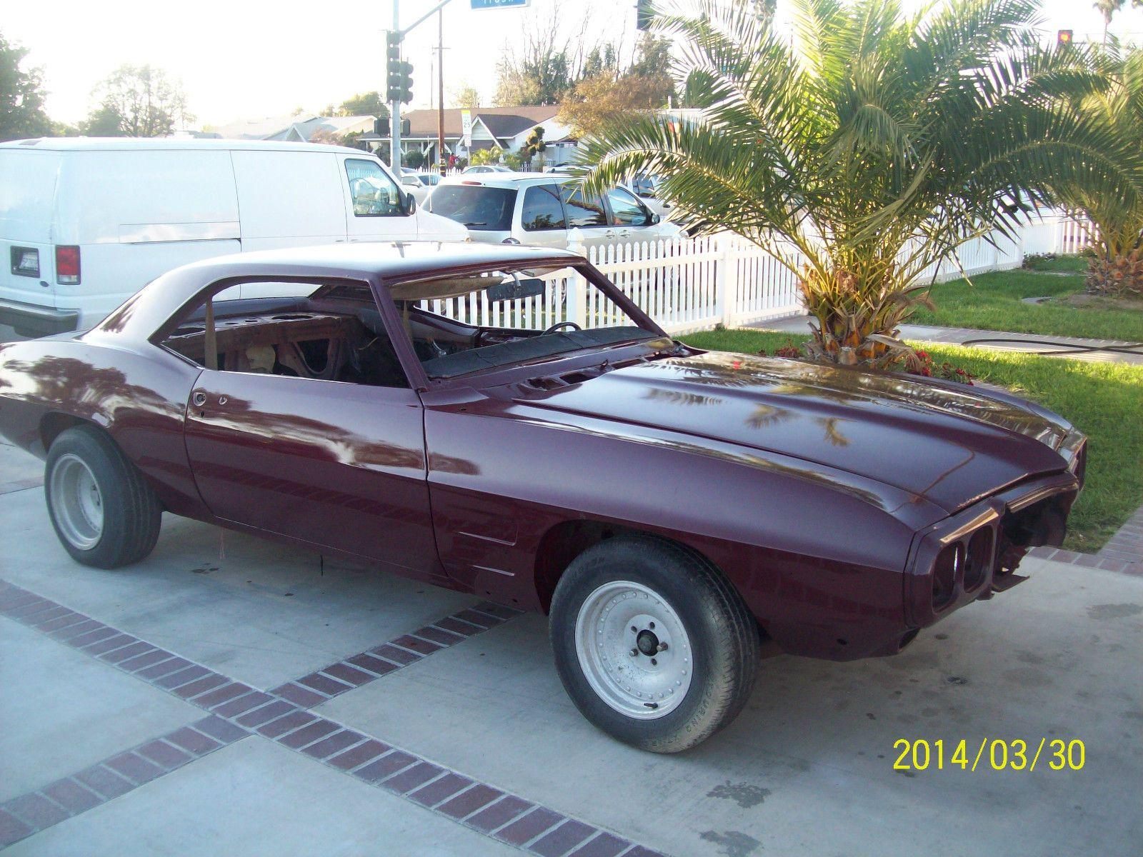 1969 Pontiac Firebird Project Car For Sale   Pontiac Firebird ...