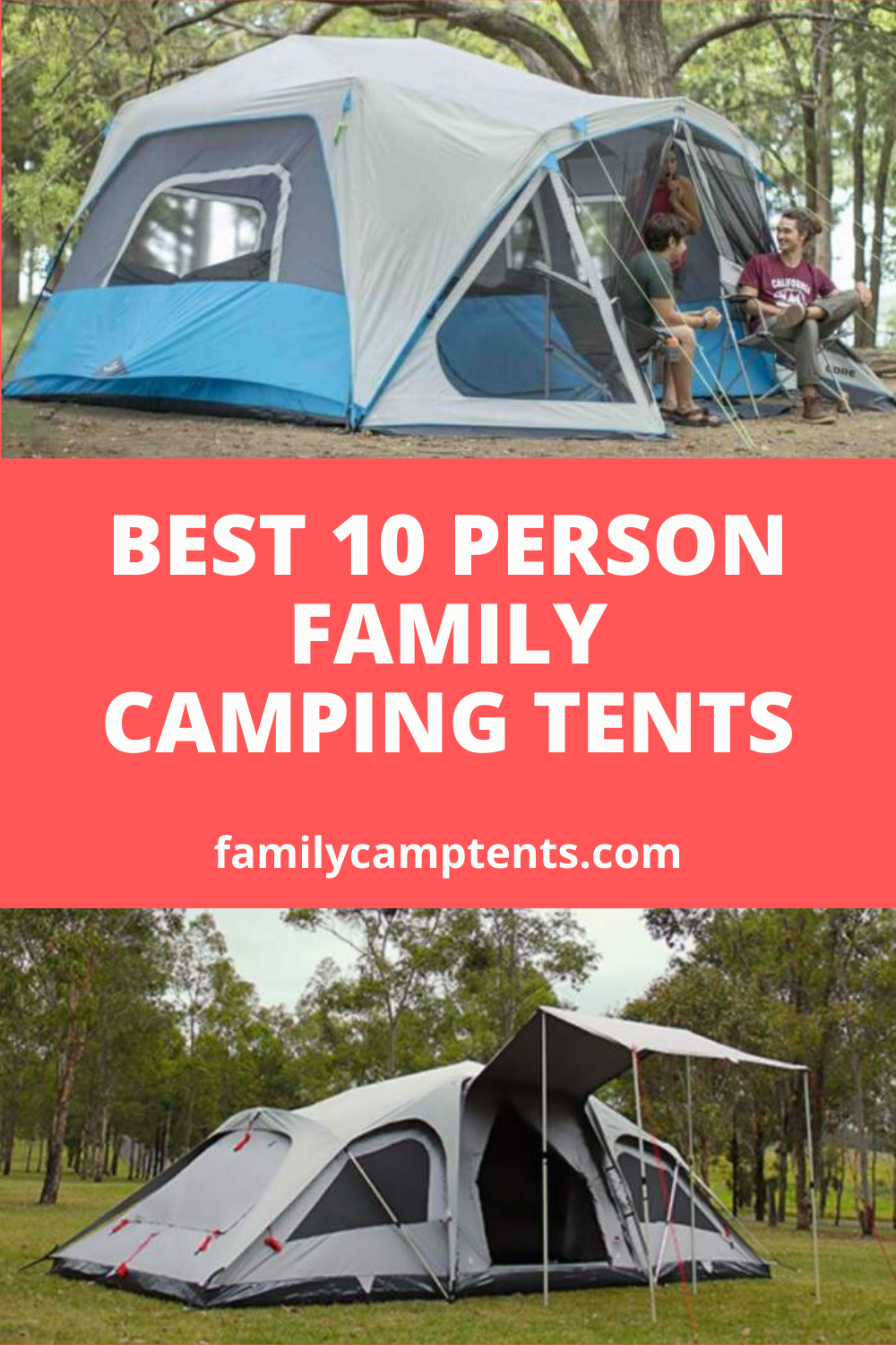 29 Best 10 Person Camping Tents For Families Groups In 2020 In 2020 Family Tent Camping Tent Tent Camping