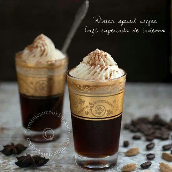 Winter Spiced Coffee