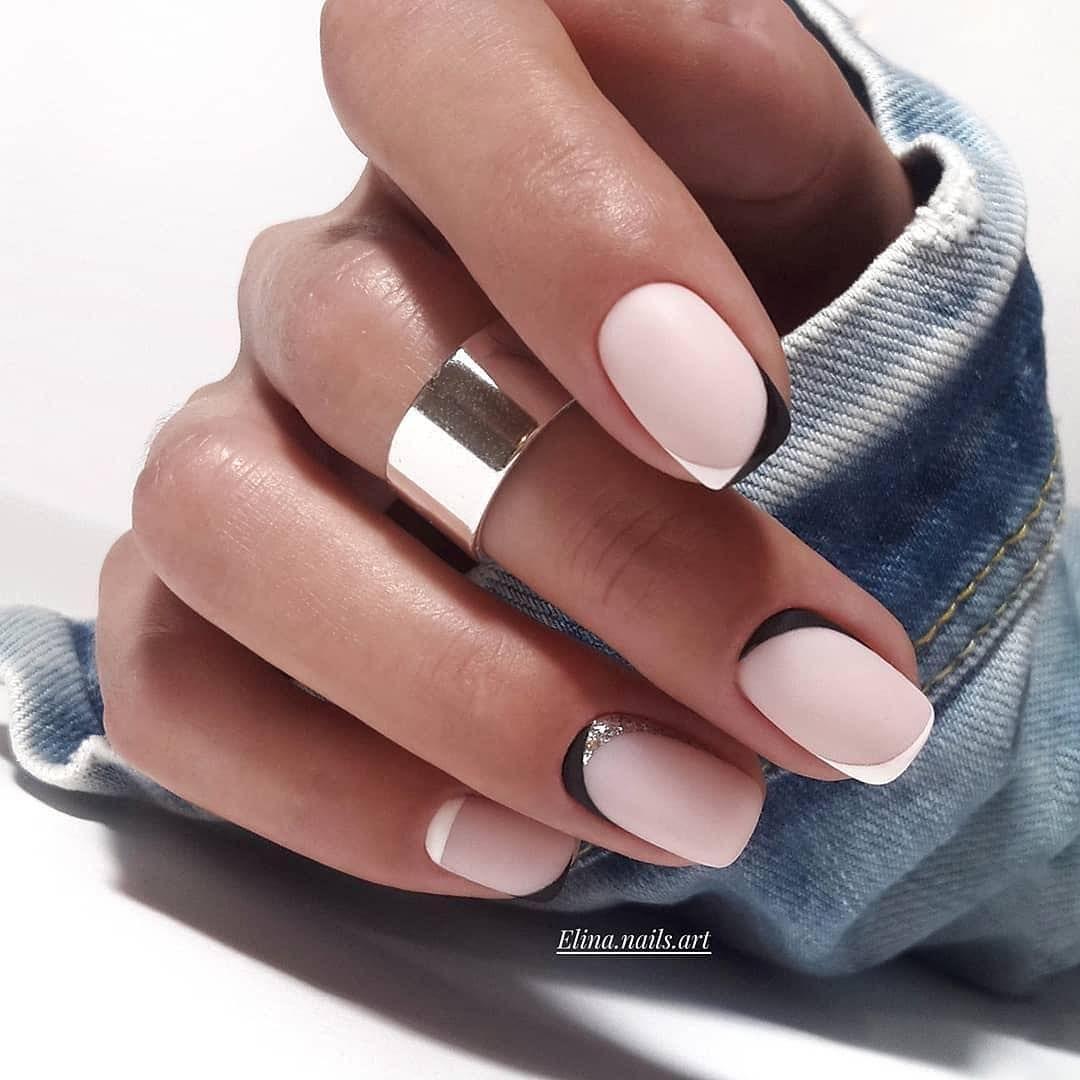 Rabota Mastera Elina Nails Art Matte Nails Design Nail Designs