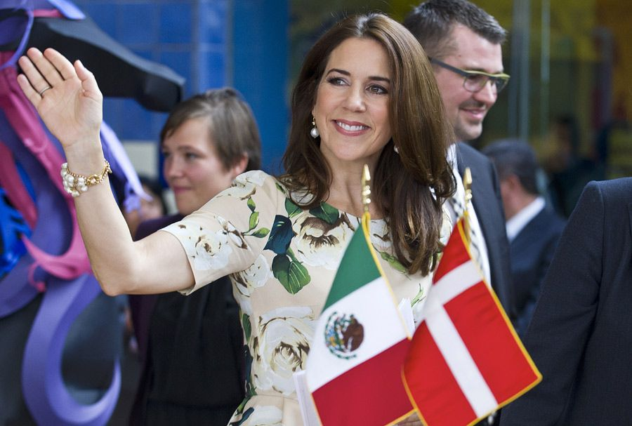 Princess Mary of Denmark displayed a variety of elegant outfits during her three-day visit to Mexico
