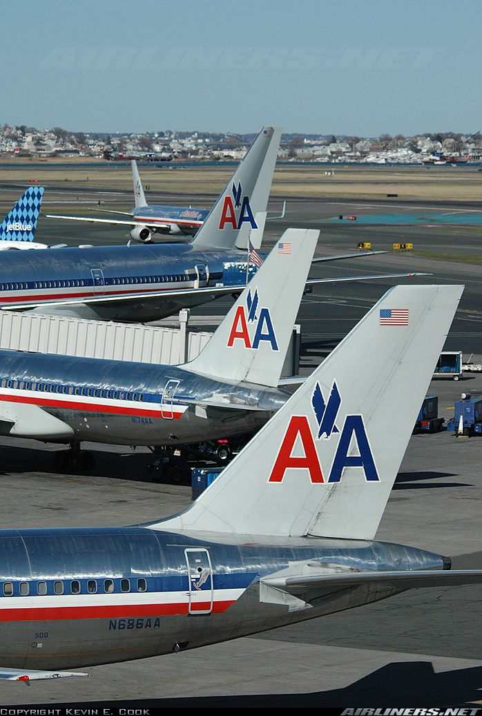 Boeing 757 223 American Airlines Airport Amp Airplane