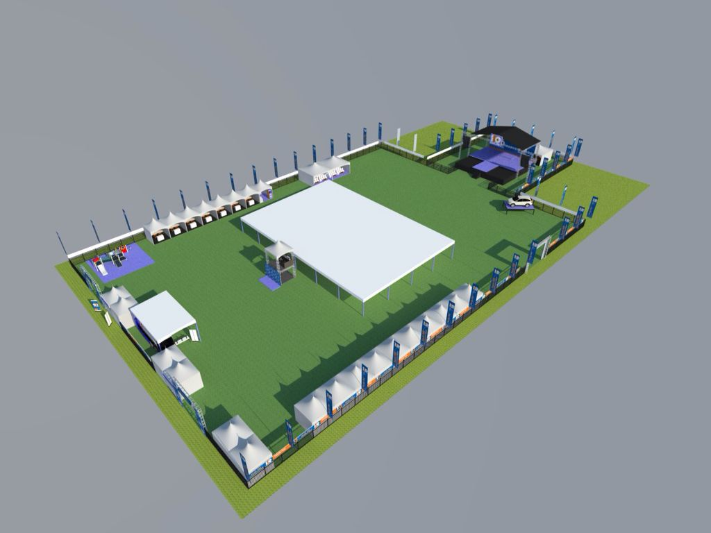 3D layout BRI 119th anniversary