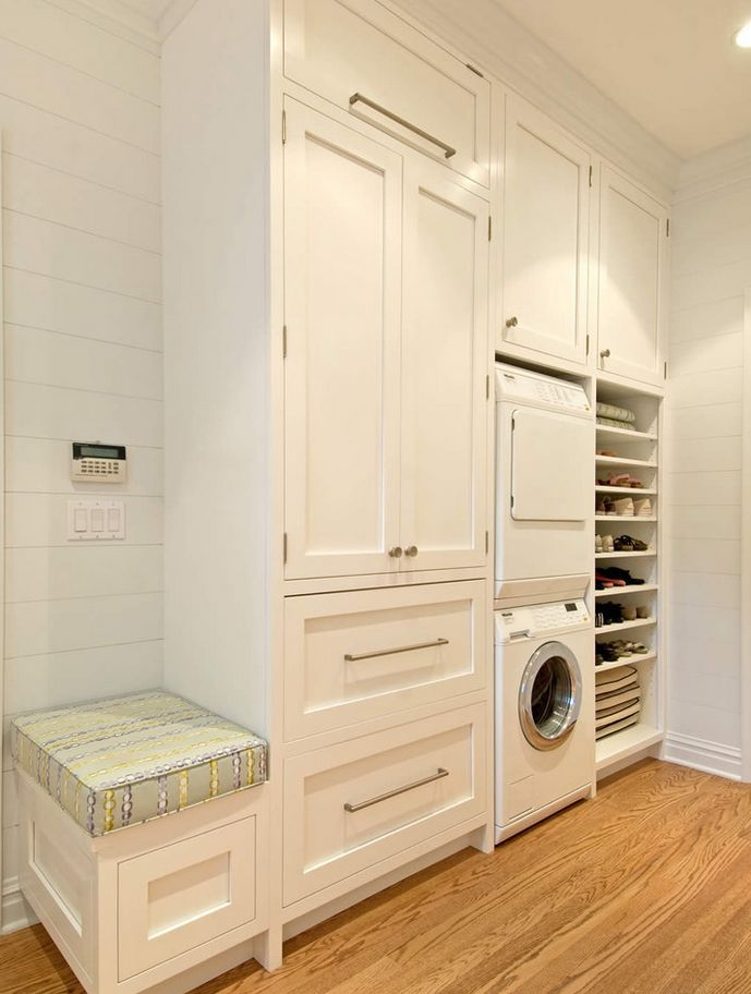20 Shoe Storage Cabinets That Are Both Functional Stylish Laundry Room Layouts Laundry Room Storage Laundry Room Design