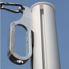 Costco Lounge Factory Shade Sail Pole And Installation Kit Shade Sail Awning Shade Deck Shade