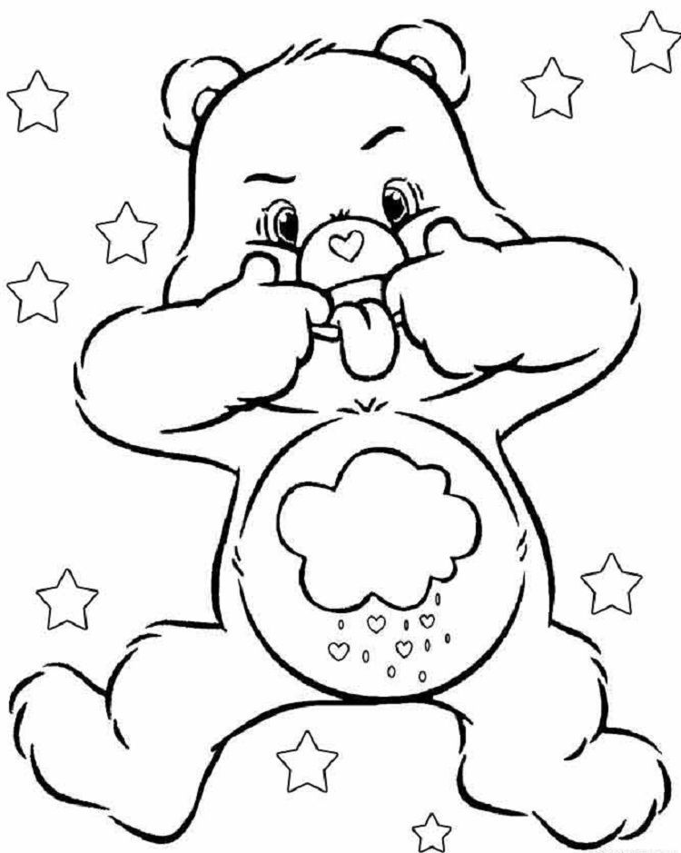 Pin By Fun Activity On Coloring Pages For Kids Bear Coloring