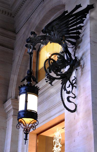 Employ A Dragon To Bear Your Outdoor Lighting