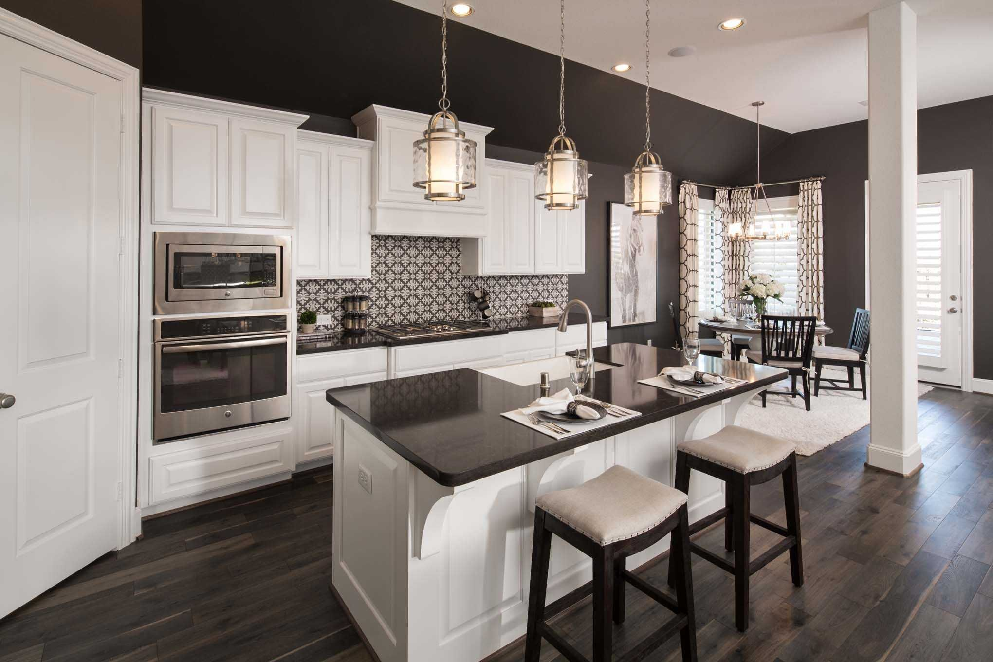 Kitchen Design Houston Endearing Highland Homes Plan 204 Model Home In Houston Texas Elyson 65S Decorating Inspiration