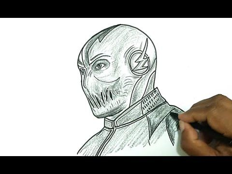 How To Draw Zoom From Flash Remmington In 2019 Drawings Step By