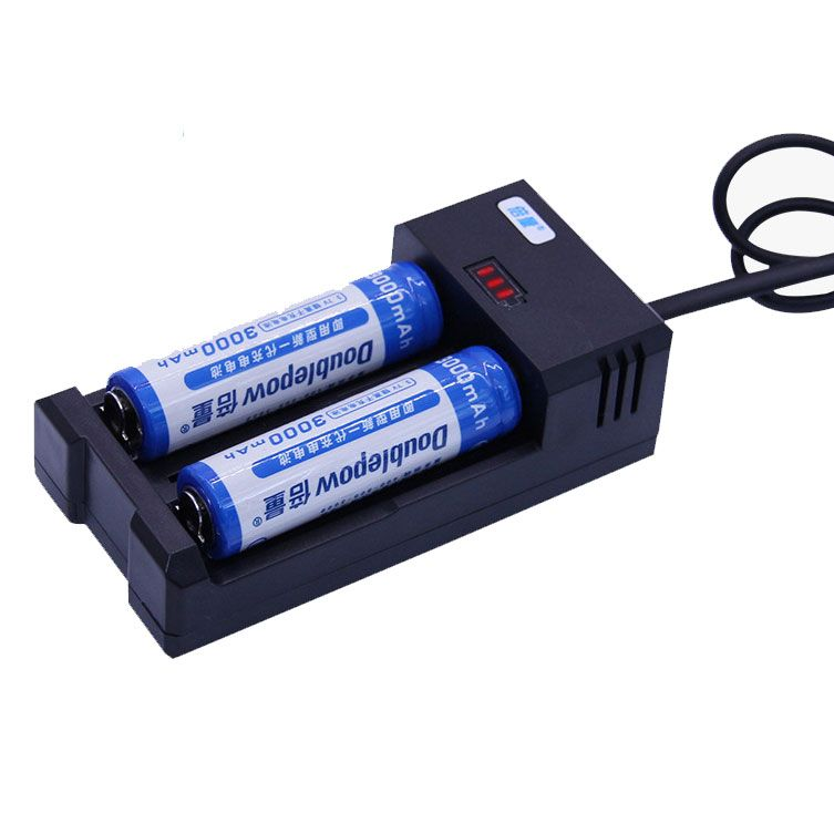 Doublepow K65 2 Slot 18650 Rechargeable Battery Charger Rechargeable Battery Charger Charger Laos