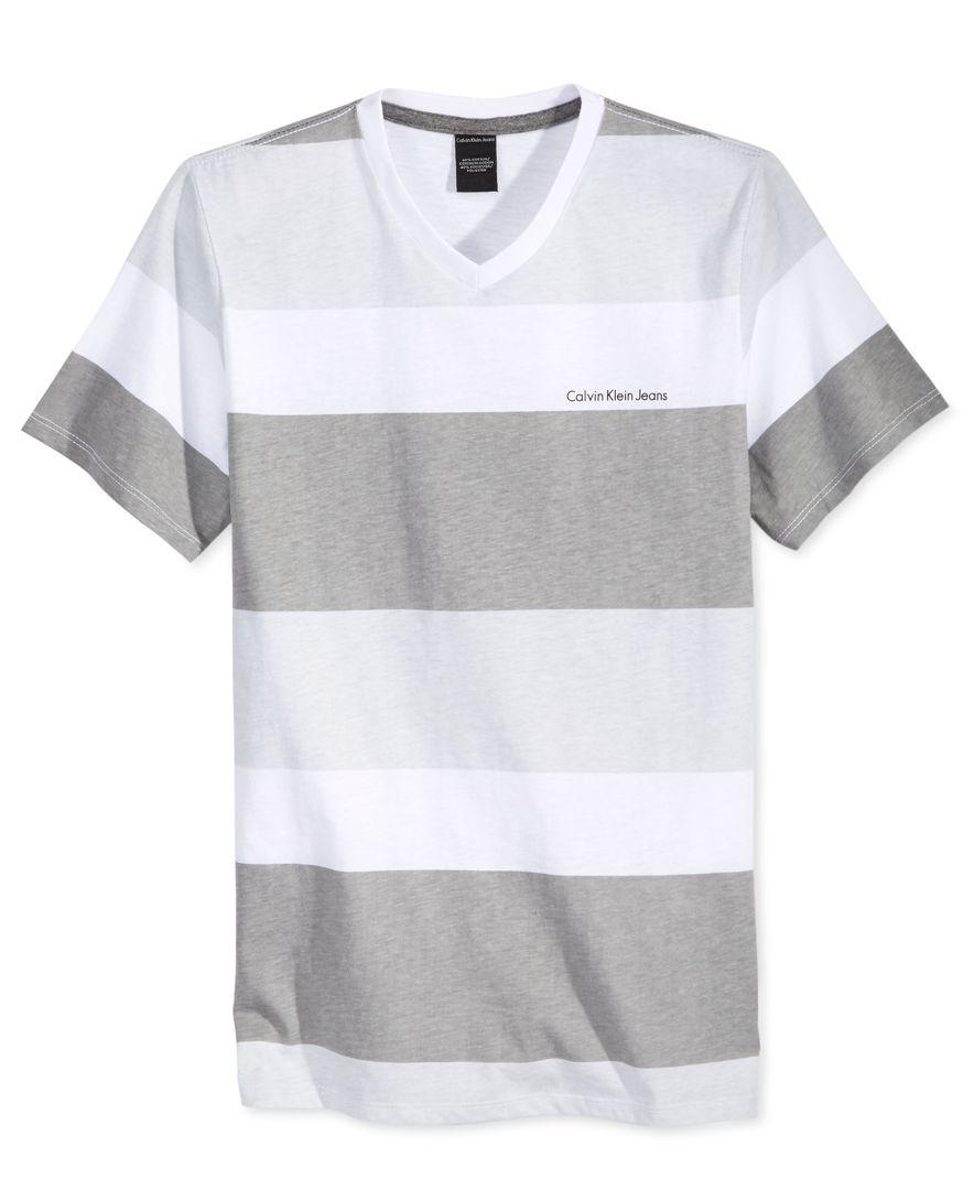 Calvin Klein Little Boys Brant V Neck T Shirt Kids Baby Macy S Shirts T Shirt Neck T Shirt