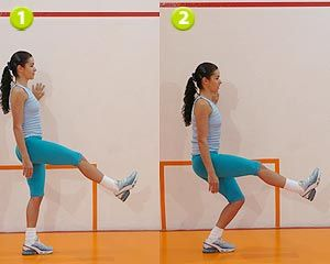 Exercício para pernas e glúteos