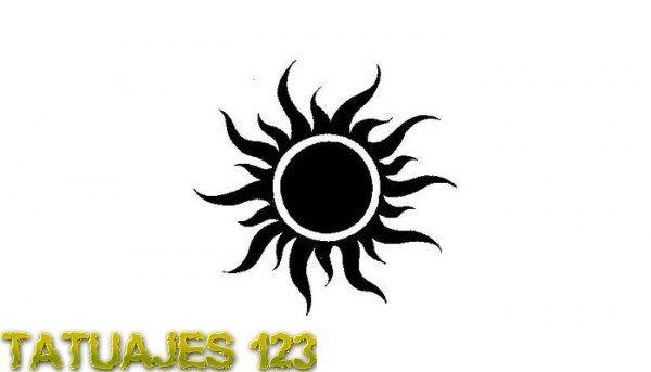 Resultado de imagen de tatuajes con diseño de sol
