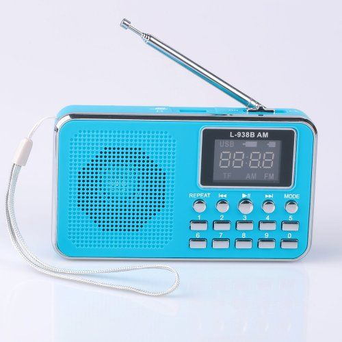Mfine Great Sound Portable Mini USB AM/FM Radio Speaker Music Player Micro SD/TF Card For PC iPod Phone (938B Blue) Mfine   http://www.amazon.com/gp/product/B00KCIW80A/ref=as_li_tl?ie=UTF8&camp=1789&creative=9325&creativeASIN=B00KCIW80A&linkCode=as2&tag=406773-20&linkId=TKUNBPTMD2TDHA3S