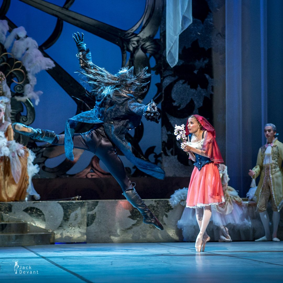 Artists of Finnish National Ballet as Little Red Riding