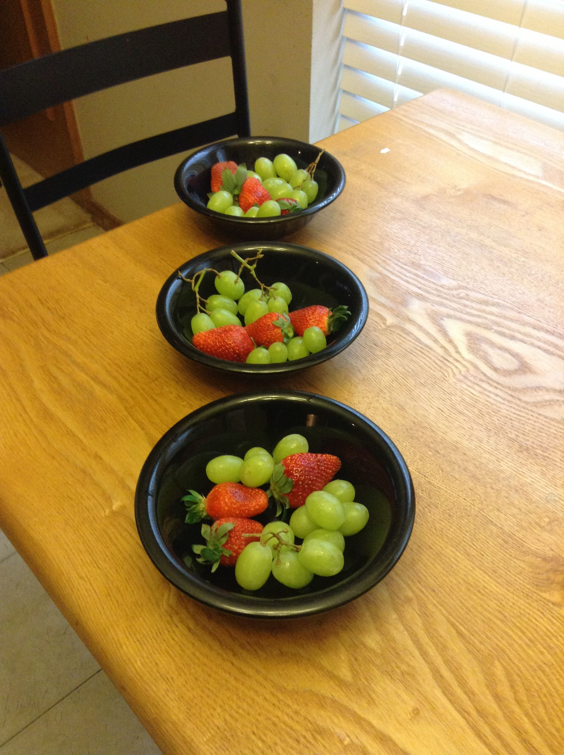 Grape and strawberries healthy and delicious healthy