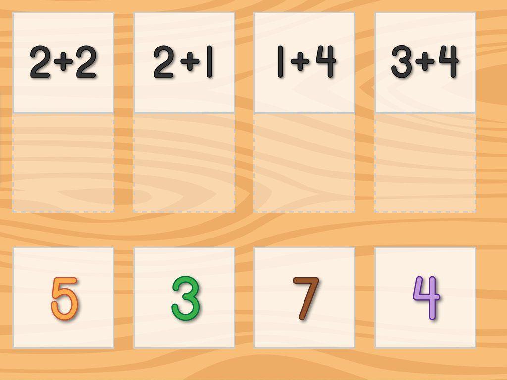 Addition Matching Kindergarten Math Game Online Kindergarten Math Games Online Kindergarten Kindergarten Math Games Addition to games online