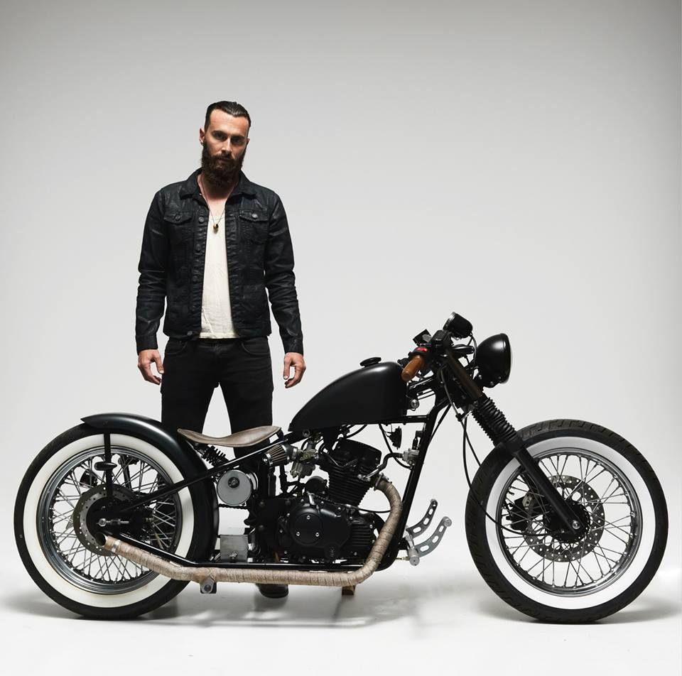 motorcycle hoolister bobber 125 2013 bikes pinterest moto voitures et motos et motard. Black Bedroom Furniture Sets. Home Design Ideas