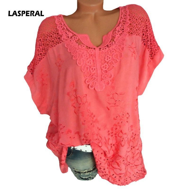 bde0f658f279af LASPERAL Floral Print Women Blouse Summer Top Plus Size Long Sleeve Shirt  Harajuku Print Blusa Feminina Womens Tops And Blouses