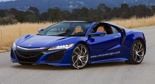 2019 Acura NSX Roadster Specs and Release Date   The Grand Tour ...