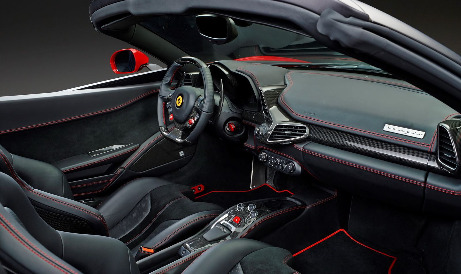 New Ferrari Sergio Revealed; Gets Toned Down in Production Form - A Lot #newferrari