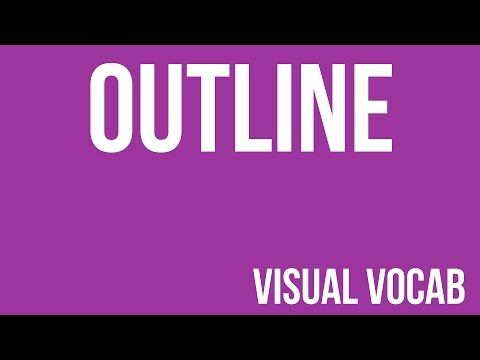 Outline defined - From Goodbye-Art Academy - YouTube