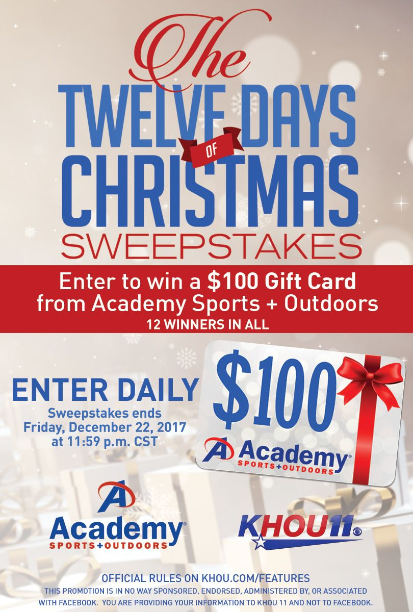 12 Days Of Christmas Sweepstakes Christmas Sweepstakes Sweepstakes 12 Days Of Christmas